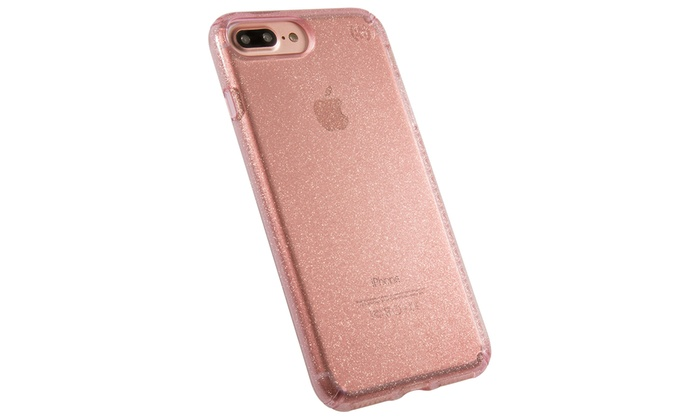 newest 4d573 84652 Speck Presidio Glitter Phone Case for iPhone 7 Plus/6s Plus/6 Plus