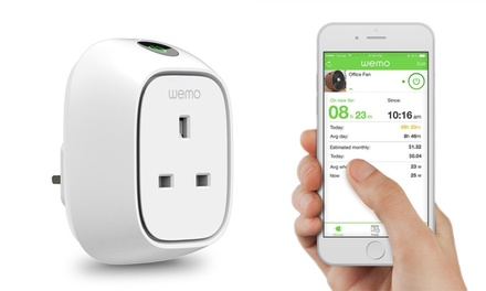 Up To 34 Off Belkin Wemo Insight Switch Groupon