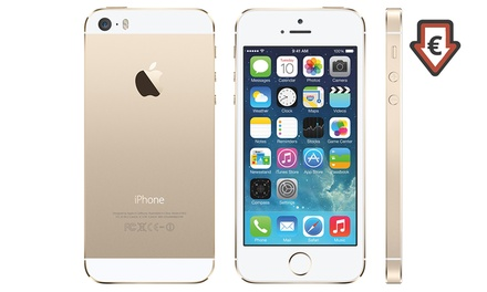 Apple iPhone 5S Reconditionné, 16 Go de mémoire, Garanti 1 an, livraison offerte