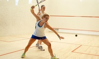 Court and Racquet Hire: 1 ($10), 2 ($19) or 4 ($35) 60-Minute Sessions at Hilton Squash And Fitness (Up to $156 Value)