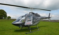 Glimpse of London Helicopter Tour with Lunch for One or Two with Adventure 001 (Up to 35% Off)