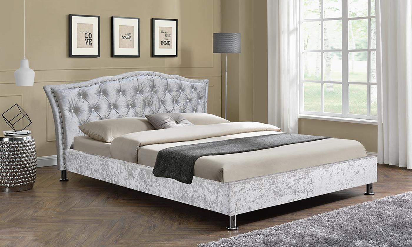 Georgio Italian Double or King Bed with Optional Mattress (£350)