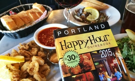 $8.50 for a 2015 Portland Happy Hour Guidebook ($16 Value)