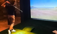 Simulateur de golf, option professeur et analyse du swing pour 1 ou 2 personnes dès 29,99 € au City Golf Club Of Lyon