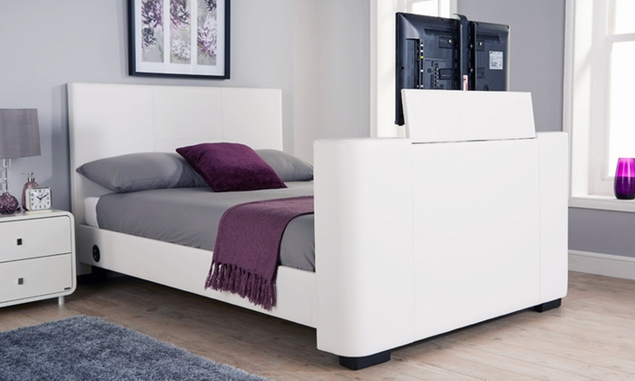 Newark electric tv bed groupon for Beds groupon