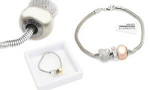(Exclusive)  Bracelet orné de cristaux Swarovski® -76% réduction