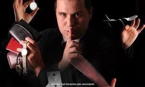 Facilita BH Eventos: Stand-up Magic Show - Teatro Inconfidentes do Clube dos Oficiais da PMMG: 1 ingresso para 19/03, às 18h