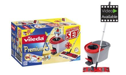 Vileda Premium 5 Komplettset mit Bodenwischer und Rotationseimer (Berlin)