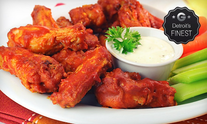 Doc's Sports Retreat - Livonia: Pub Fare at Doc's Sports Retreat in Livonia (Half Off)
