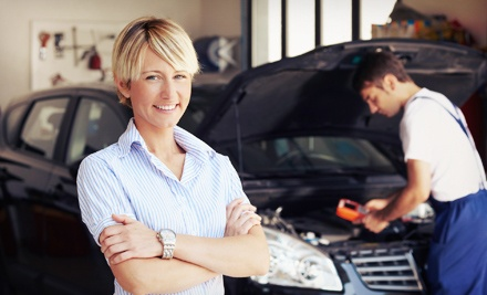 $33 for Three Oil Changes, Two Tire Rotations, Engine-Light Check, and Inspections from Auto Care Special ($199 Value)