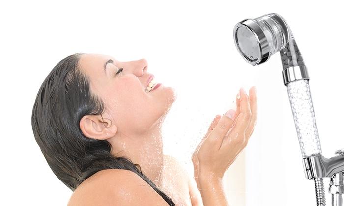 Soffione per la doccia con sfere