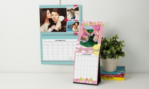 Up to 85% Off Custom Wall Calendars  at Photobook Canada, plus 6.0% Cash Back from Ebates.
