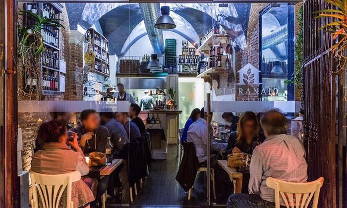 Il Granaio Bistrot - Firenze: Menu à la carte di carne e pesce a Il Granaio Bistrot vicino a Piazza della Signoria (sconto 58%)