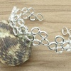 Sterling Silver Honeycomb Cuff Bracelet