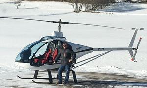 Aéro Light Hélico: Baptême de l'air en hélicoptère ultra léger de 12 ou 18 minutes avec vidéo du vol dès 86 € avec Aéro Light Hélico