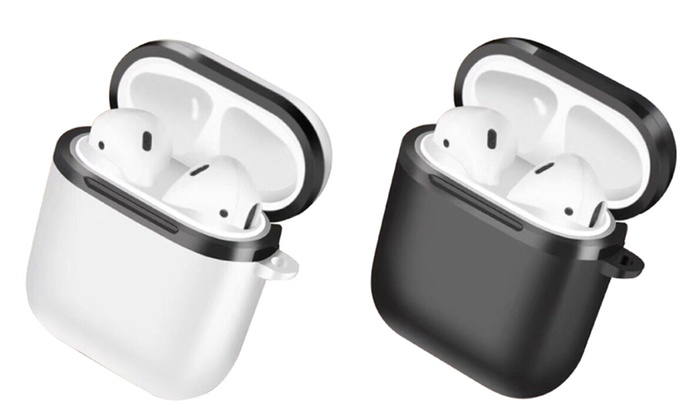 5546b731e6c RevJams Hard Shell Protective Case for Apple Airpods Charging Case