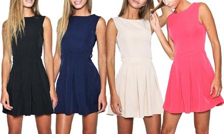 Elegantes Damenkleid in der Farbe nach Wahl (67% sparen)