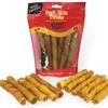 Beggar Bones Pork Skin Twists for Dogs (11- or 21-Pack)