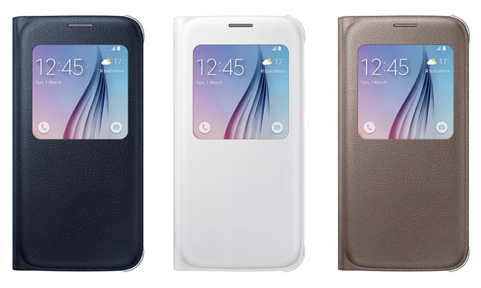 newest 65fdf 39bed Samsung Galaxy S6 S-View Cover   Groupon Goods