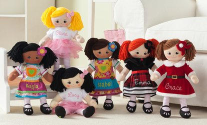 One or Two Personalized Rag Dolls from Personalized Planet (Up to 45% Off)