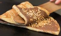 2 Pancakes oder Crêpes und ein Frozen Yogurt mit 2 Toppings für 2 oder 4 Personen bei YO Yogurteria (bis zu 46% sparen*)