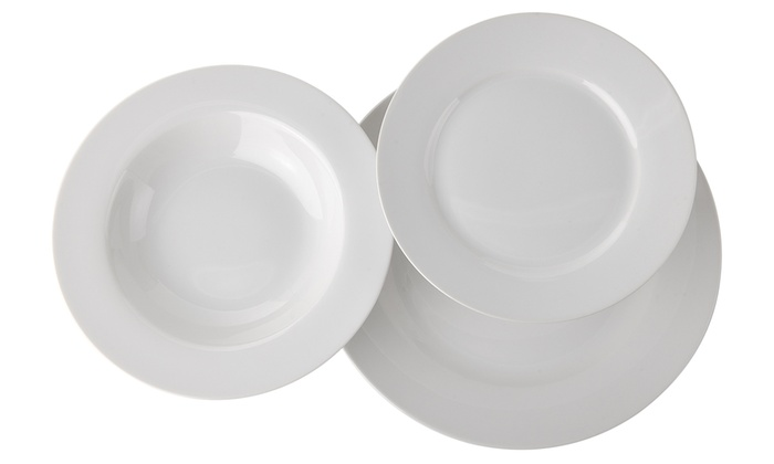 Set di piatti in porcellana Saturno