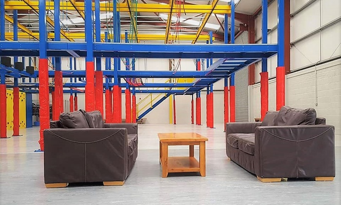 6x Plywood Kinderkamers : Harness adventure indoor high ropes from £5 bangor groupon