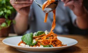 Beboz: Italian Pizza, Wrap or Pasta with Dessert and Drink for One or Two at Beboz (Up to 56% Off)