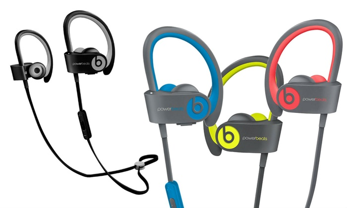 701bae2b70c Beats by Dre Powerbeats 2 or 3 Headphones (Refurbished A-Grade ...