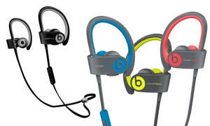 Beats by Dre Powerbeats 2 or 3 Headphones (Refurbished A-Grade)