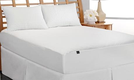 Clearance: Elle Coral Fleece Waterproof Mattress Pad