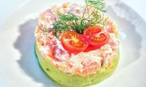 Restaurante Lusitano's: Menú para 2 o 4 con entrante, principal, bebida y postre o café desde 19,95 € en Restaurante Lusitano's