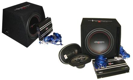 Impianto stereo per auto Excalibur