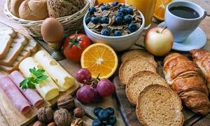 Hotel Da Vinci: Luxe ontbijt met bubbels voor 1, 2 of 4 personen bij hotel Da Vinci (vanaf € 9,99)