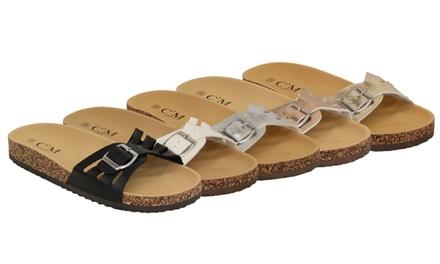 Women's Slip-On Flat Mule Sandals
