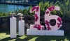 Life Size Floral Number Hire