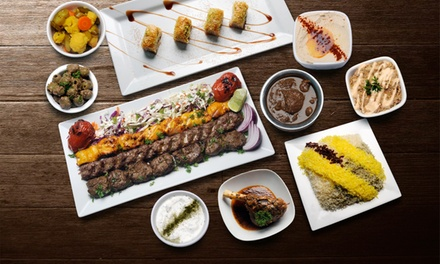 $50 or $100 to Spend on Persian Food at Shiraz Authentic Persian Restaurant