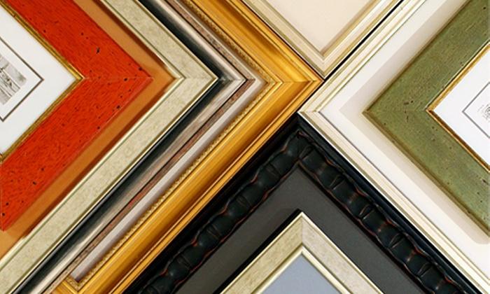 Quadro Photo & Framing - Vancouver: C$40 for C$100 Towards Custom Framing at Quadro Photo & Framing