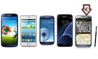 Samsung Galaxy o Note ricondizionati disponibili in vari modelli con spedizione gratuita
