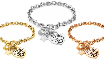I Love You to the Moon and Back Bracelet from £3.98