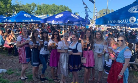One-Day General Admission to Central Florida Oktoberfest, October 4, 5, 25, or 26 (Up to 25% Off)