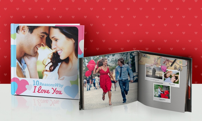 Photobook America: 40-Page Custom Photo Book from Photobook America (Up to 71% Off). Three Options Available.