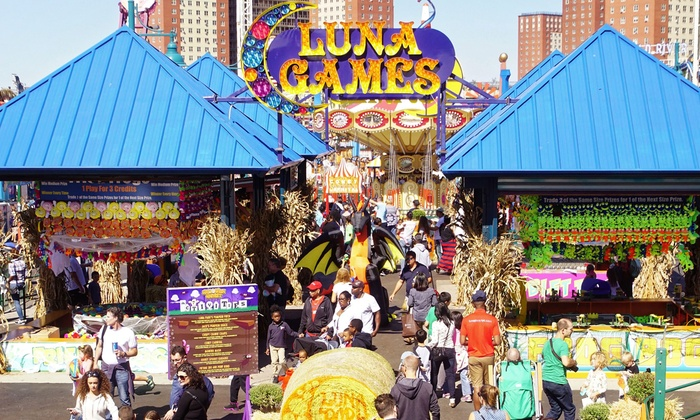 Coney island luna park discount coupons
