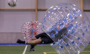Bulle en Folie: C$189 for 2 Hours of Bubble Soccer for 10 to 16 People with Equipment and Coordinator at Bulle en folie (C$450 Value)
