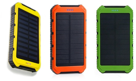 One,Two or Three 10000mAh Solar Chargeable Powerbanks