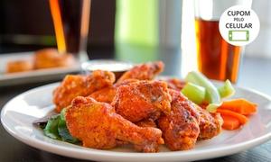 DF Restaurantes: DF Restaurantes - Asa Norte: 5 opções de porção + 2 cervejas de 600 ml cada