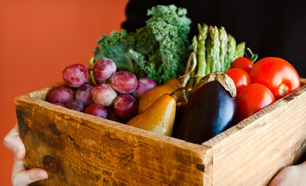 $10 for $20 Worth of Organic Groceries and Produce Delivered from Mile High Organics