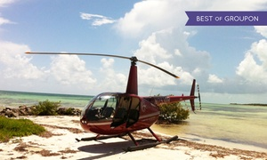 Timberview Helicopters: $155for a Romantic Helicopter Tour at Timberview Helicopters ($337 Value)