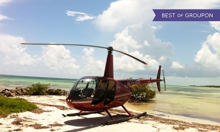 $155for a Romantic Helicopter Tour at Timberview Helicopters ($337 Value)