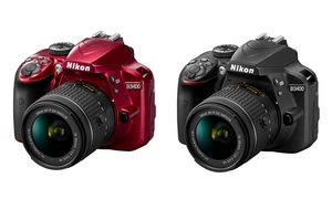 Nikon D3400 24.2 MP DSLR Camera with AF-P DX 18-55mm VR Lens Bundles